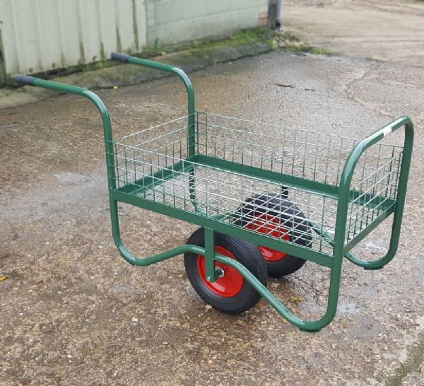 Garden Centre Trolley | Mesh Base & sides